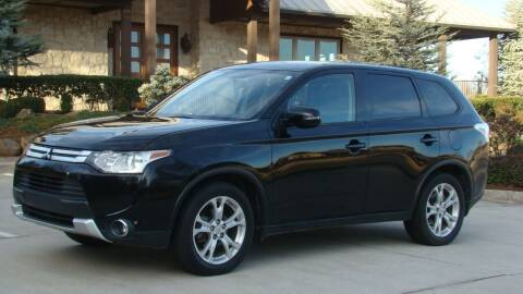 2015 Mitsubishi Outlander for sale at Red Rock Auto LLC in Oklahoma City OK