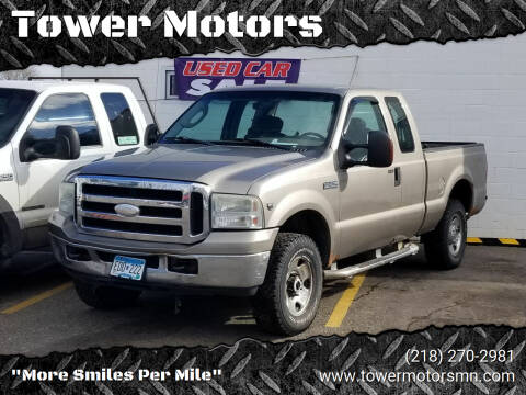 2007 Ford F-250 Super Duty for sale at Tower Motors in Brainerd MN