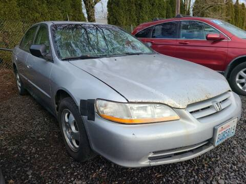 2002 Honda Accord for sale at Universal Auto Sales in Salem OR