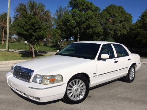 2009 Mercury Grand Marquis for sale at FIRST FLORIDA MOTOR SPORTS in Pompano Beach FL