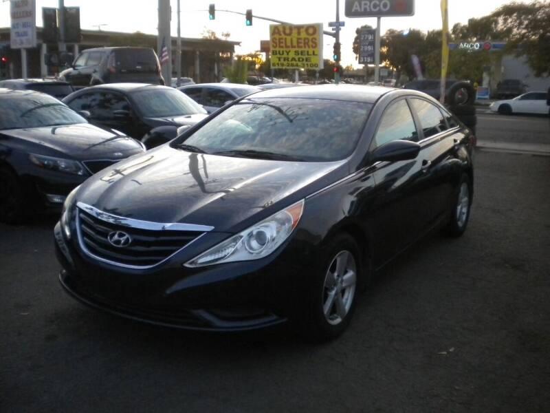 2012 Hyundai Sonata for sale at AUTO SELLERS INC in San Diego CA