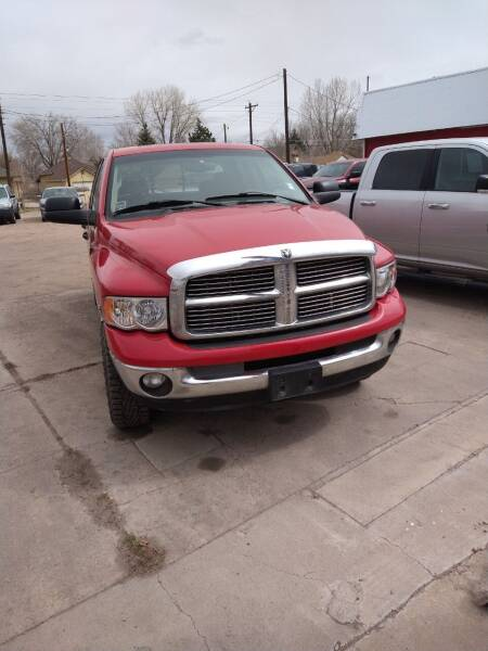 2005 Dodge Ram Pickup 2500 for sale at PYRAMID MOTORS AUTO SALES in Florence CO