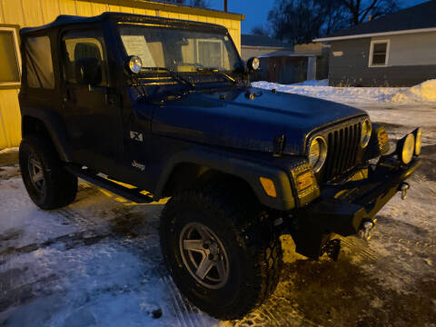 2005 Jeep Wrangler for sale at Truck City Inc in Des Moines IA