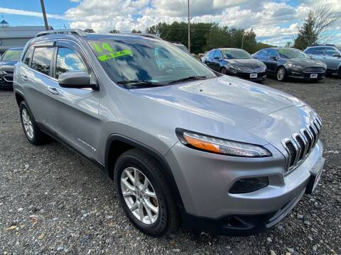 2014 Jeep Cherokee for sale at ALL WHEELS DRIVEN in Wellsboro PA