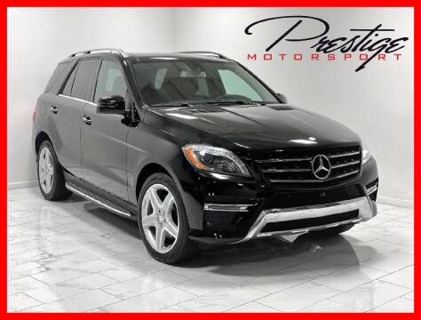 2015 Mercedes-Benz M-Class for sale at Prestige Motorsport in Rancho Cordova CA