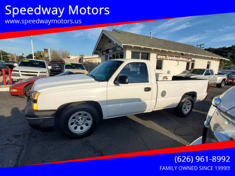 2006 Chevrolet Silverado 1500 for sale at Speedway Motors in Glendora CA