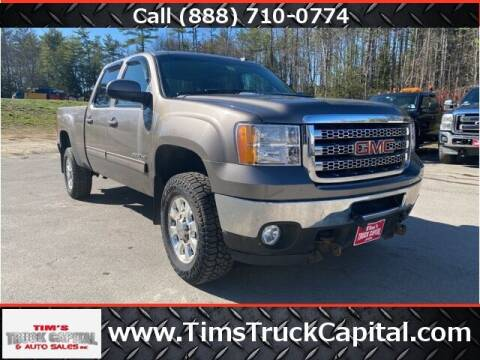 2012 GMC Sierra 2500HD for sale at TTC AUTO OUTLET/TIM'S TRUCK CAPITAL & AUTO SALES INC ANNEX in Epsom NH