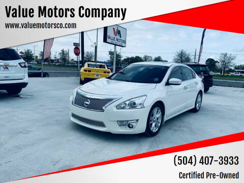 2015 Nissan Altima for sale at Value Motors Company in Marrero LA