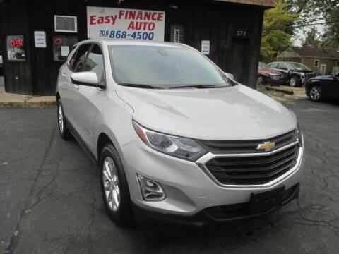 2020 Chevrolet Equinox for sale at EZ Finance Auto in Calumet City IL