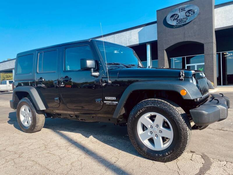 2018 Jeep Wrangler JK Unlimited for sale at The Truck Shop in Okemah OK