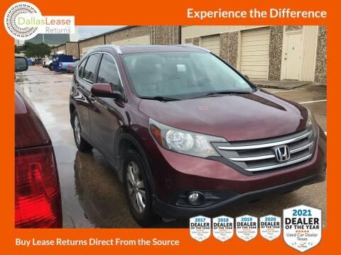 2013 Honda CR-V for sale at Dallas Auto Finance in Dallas TX