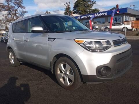 2019 Kia Soul for sale at All American Motors in Tacoma WA
