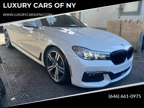 2017 BMW 7 Series for sale at LUXURY CARS OF NY in Queens NY