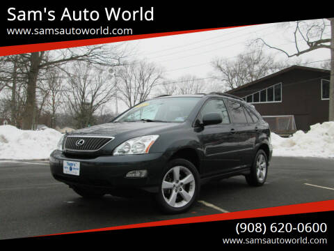 2007 Lexus RX 350 for sale at Sam's Auto World in Roselle NJ