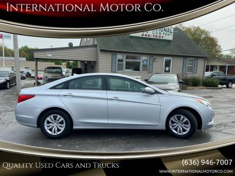 2012 Hyundai Sonata for sale at International Motor Co. in St. Charles MO