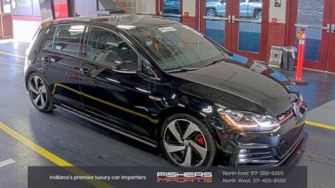 2018 Volkswagen Golf GTI for sale at Fishers Imports in Fishers IN