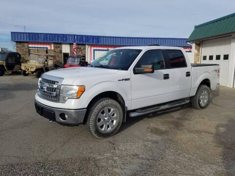 2014 Ford F-150 for sale at Bull Mountain Auto, Truck & Trailer Sales in Roundup MT