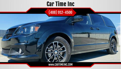 2018 Dodge Grand Caravan for sale at Car Time Inc in San Jose CA