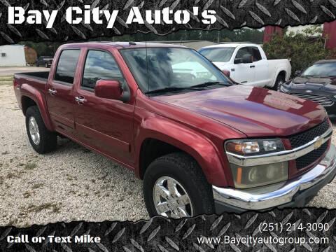 2010 Chevrolet Colorado for sale at Bay City Auto's in Mobile AL
