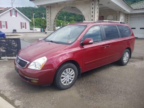 2014 Kia Sedona for sale at Steel River Auto in Bridgeport OH