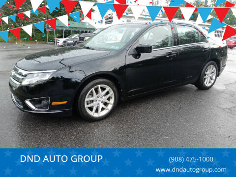 2012 Ford Fusion for sale at DND AUTO GROUP 2 in Asbury NJ