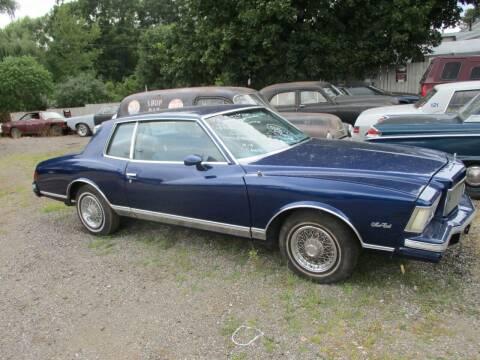 1978 Chevrolet Monte Carlo for sale at Marshall Motors Classics in Jackson MI