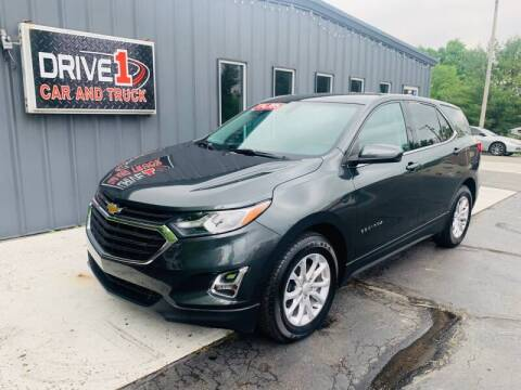 2018 Chevrolet Equinox for sale at Drive 1 Car & Truck in Springfield OH