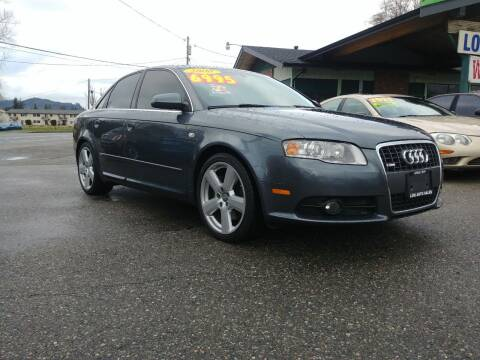 2008 Audi A4 for sale at Low Auto Sales in Sedro Woolley WA
