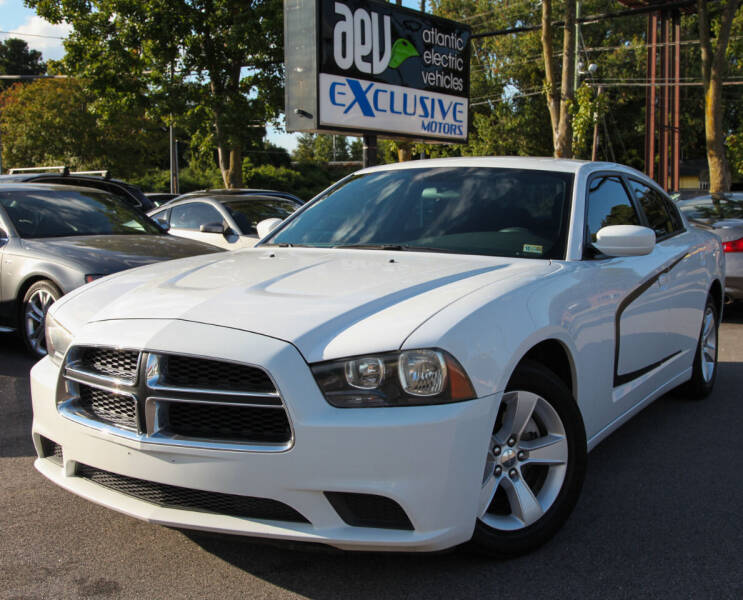 2012 Dodge Charger for sale at EXCLUSIVE MOTORS in Virginia Beach VA