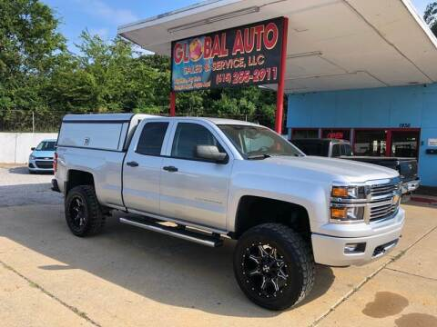 2014 Chevrolet Silverado 1500 for sale at Global Auto Sales and Service in Nashville TN