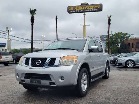 2009 Nissan Armada for sale at A MOTORS SALES AND FINANCE in San Antonio TX