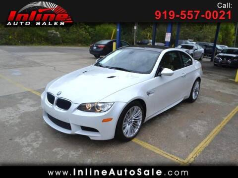 2011 BMW M3 for sale at Inline Auto Sales in Fuquay Varina NC