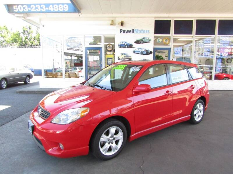 2008 Toyota Matrix for sale at Powell Motors Inc in Portland OR