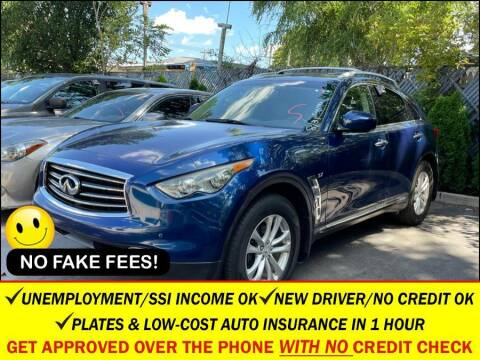 2013 Infiniti FX37 for sale at AUTOFYND in Elmont NY