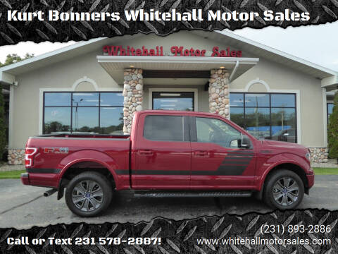 2018 Ford F-150 for sale at Kurt Bonners Whitehall Motor Sales in Whitehall MI