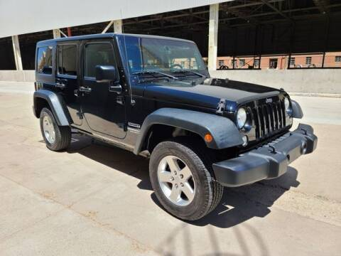 2014 Jeep Wrangler Unlimited for sale at NEW UNION FLEET SERVICES LLC in Goodyear AZ