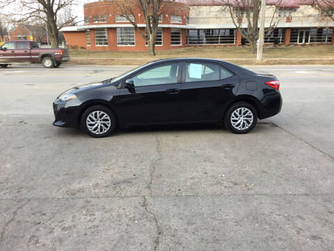 2017 Toyota Corolla for sale at Mulder Auto Tire and Lube in Orange City IA