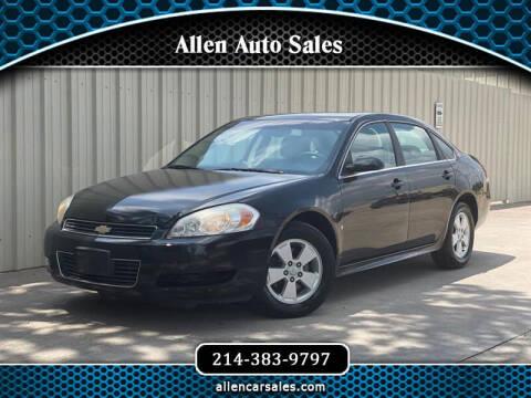 2009 Chevrolet Impala for sale at Allen Auto Sales in Dallas TX