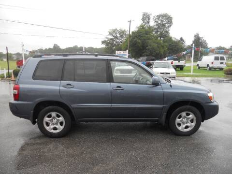 2005 Toyota Highlander for sale at All Cars and Trucks in Buena NJ
