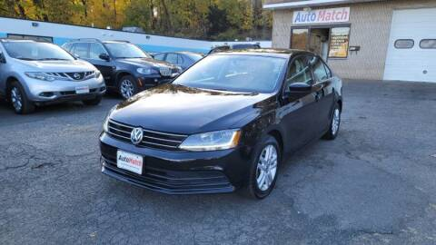 2017 Volkswagen Jetta for sale at Auto Match in Waterbury CT