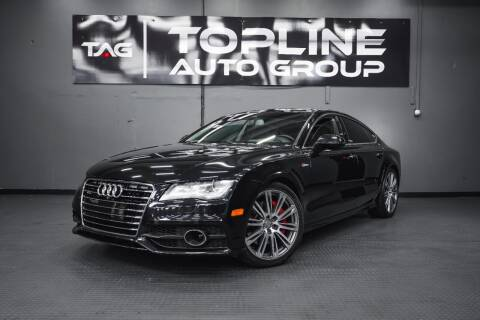 2013 Audi A7 for sale at TOPLINE AUTO GROUP in Kent WA