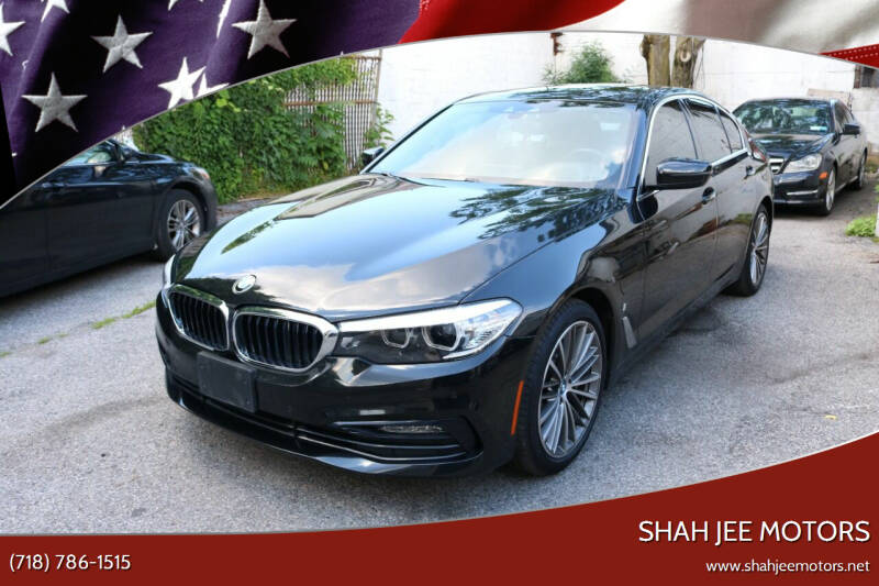 2018 BMW 5 Series for sale at Shah Jee Motors in Woodside NY