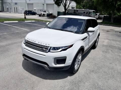 2017 Land Rover Range Rover Evoque for sale at Best Price Car Dealer in Hallandale Beach FL
