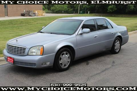 2004 Cadillac DeVille for sale at Your Choice Autos - My Choice Motors in Elmhurst IL