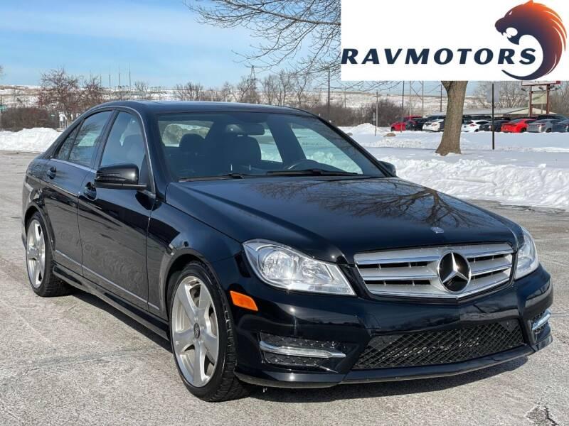 2014 Mercedes-Benz C-Class for sale at RAVMOTORS in Burnsville MN