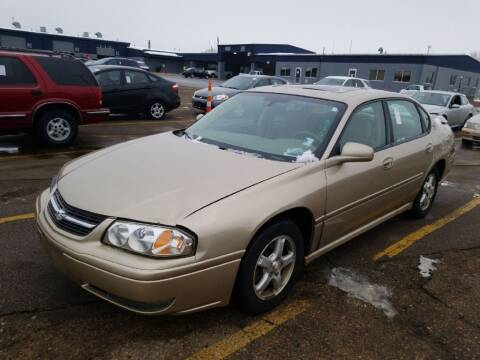 2005 Chevrolet Impala for sale at Affordable 4 All Auto Sales in Elk River MN
