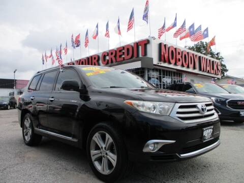 2011 Toyota Highlander for sale at Giant Auto Mart 2 in Houston TX