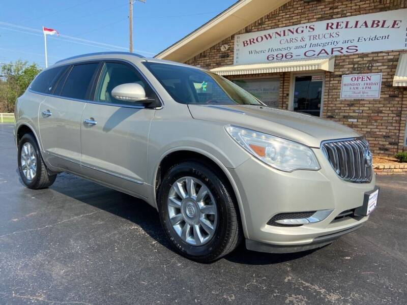2013 Buick Enclave for sale at Browning's Reliable Cars & Trucks in Wichita Falls TX