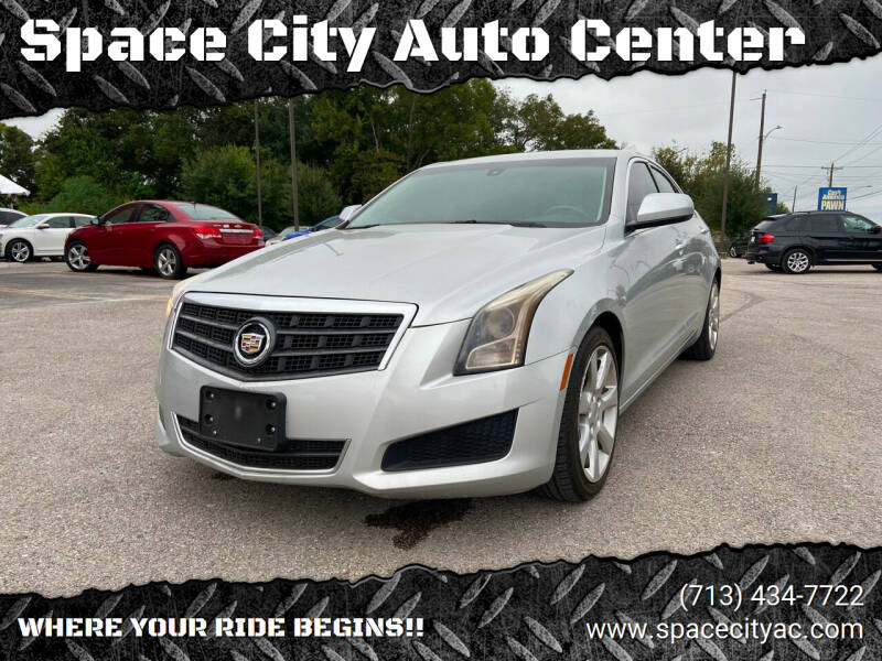 2013 Cadillac ATS for sale at Space City Auto Center in Houston TX