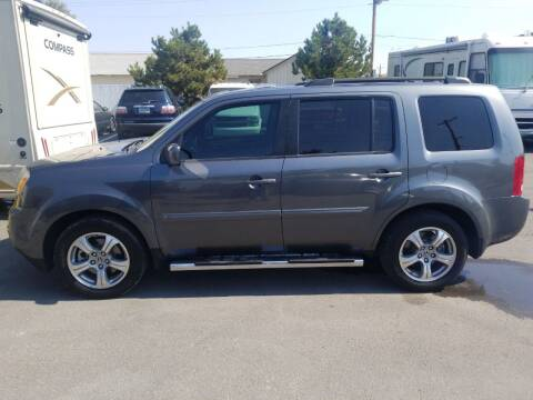 2012 Honda Pilot for sale at Freds Auto Sales LLC in Carson City NV